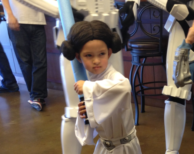 Princess Leia kids cosplay