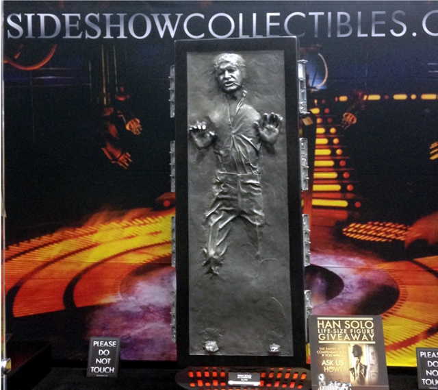 Sideshow Collectibles Han Solo display