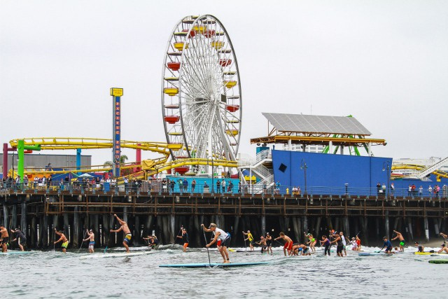 Come join us on Saturday, June 6 for the 6th annual Tommy Bahama Pier Paddleboard Race & Ocean Festival at the Santa Monica Pier. Every year the event draws hundreds of competitors and thousands of spectators. It is an all-day event that showcases an exciting array of races from paddleboard to dory races to a rigorous ocean swim, all featuring the top competitors from around the world. The event is free for spectators and fun for the whole family. Besides the races, there will be beach games and races for the kids, a lifeguard and surf history pop-up museum - plus live music and hula dancers performing throughout the day. Tommy Bahama will also bring back their signature lounge tent and 21 and over rum bar. Come celebrate decades of surf, paddleboard and lifeguard history. For additional information, visit www.pierpaddle.com.