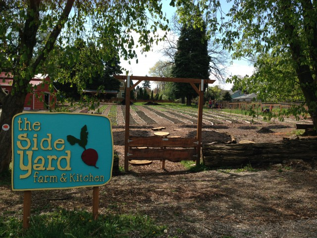 Side Yard Farm & Kitchen Front