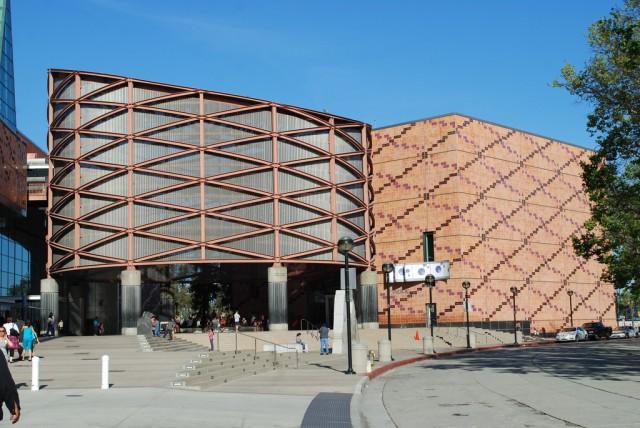 Entrance of California Science Center