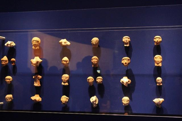 Dead Sea Scrolls Ancient Pottery Faces