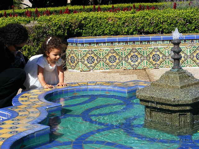 balboa park girl fountain