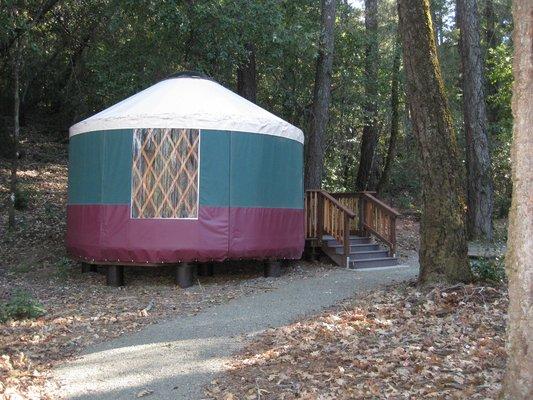 bothe-napa yurt