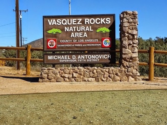 Vasquez Rocks Welcome Sign - Yelp - Stephanie P
