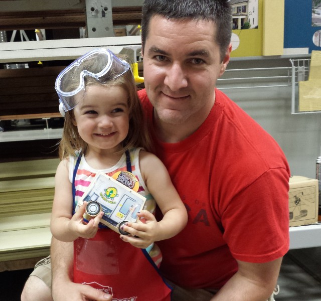 dad daughter lowes build and grow