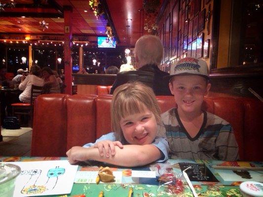 Kids at Lively Restaurant