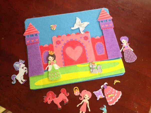 princess felt board
