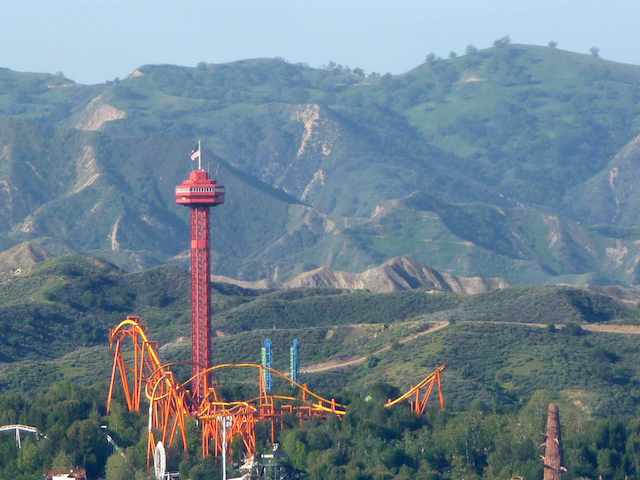 Santa Clarita Six Flags Magic Mountain