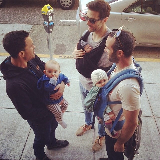 dads with babies