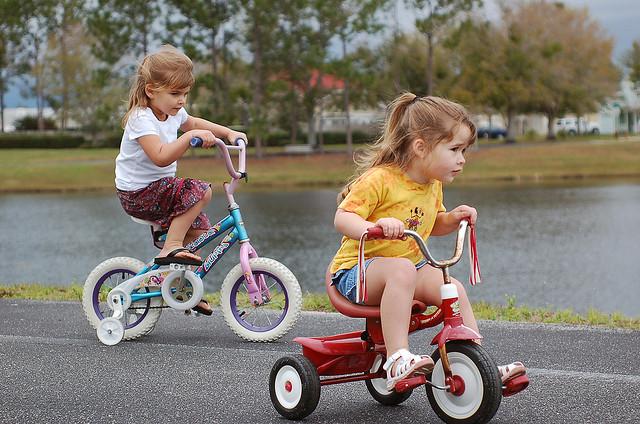 Bike and trike