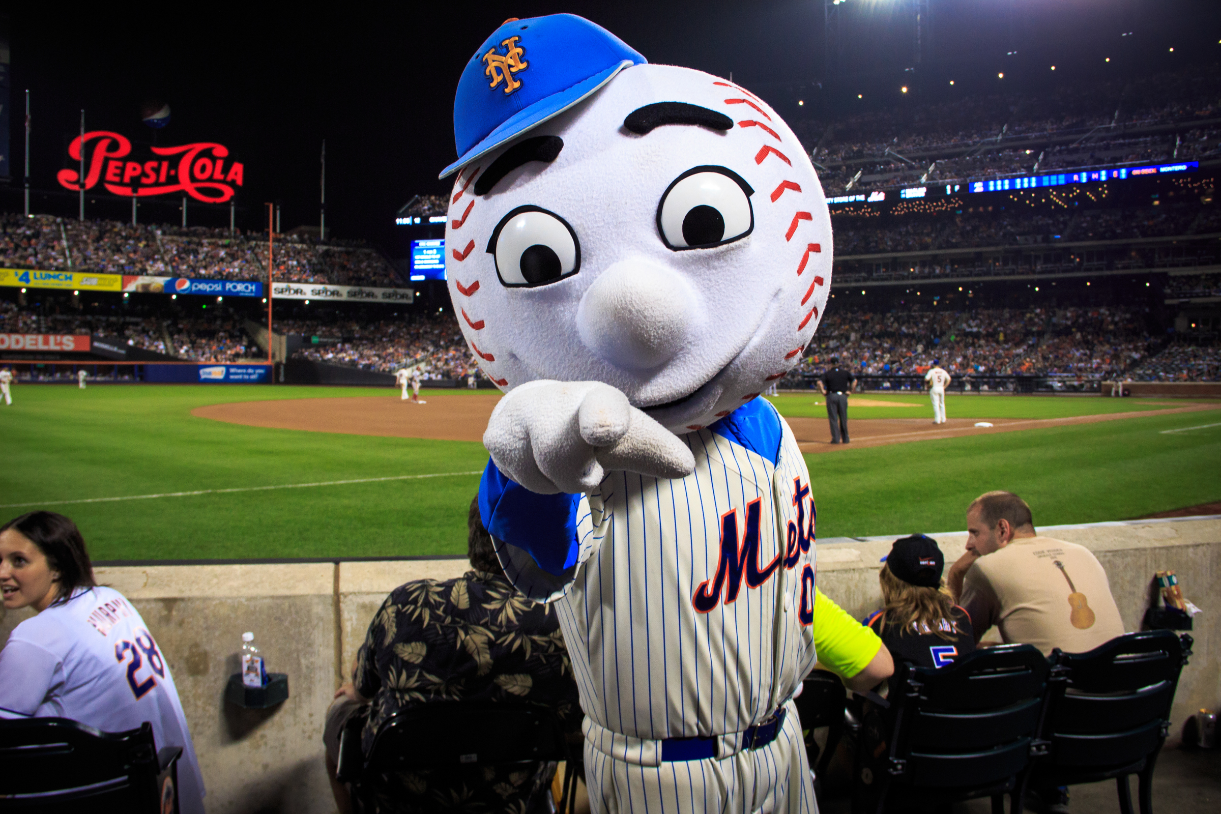 mr met, via flickr