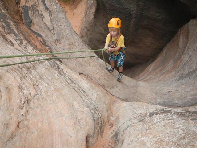 canyoneering.zion