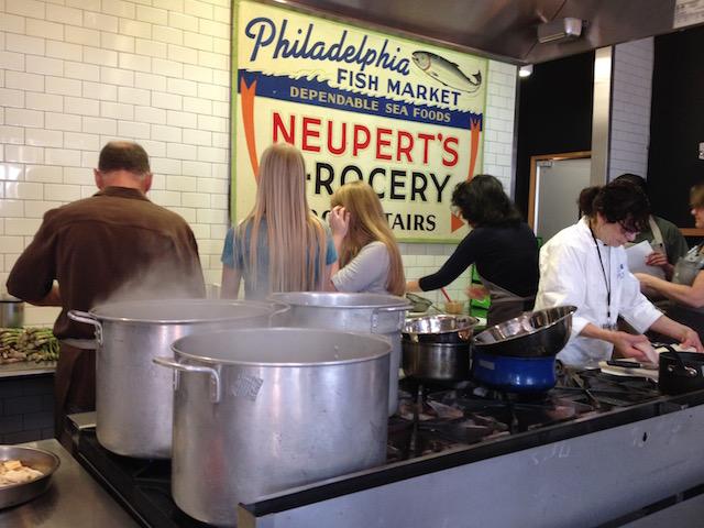 Pike Street Atrium Cooking Class
