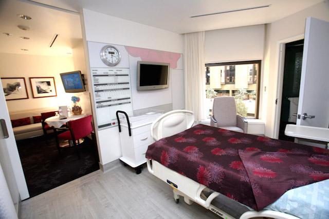Cedars-Sinai-Birthing-Suite