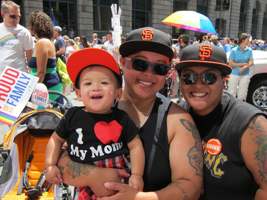 San Francisco Pride Family Garden and Parade 2015