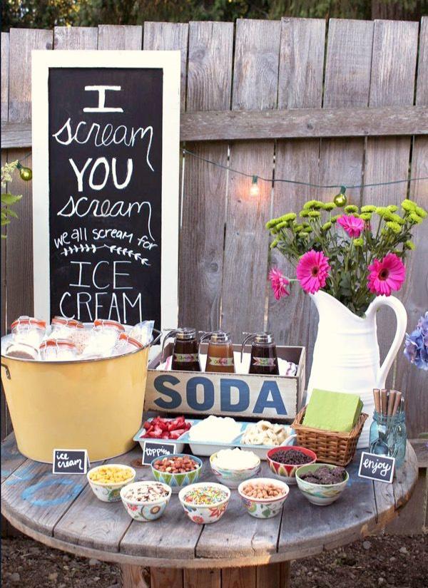 27 Sweet Ice Cream Sundae Bar Ideas