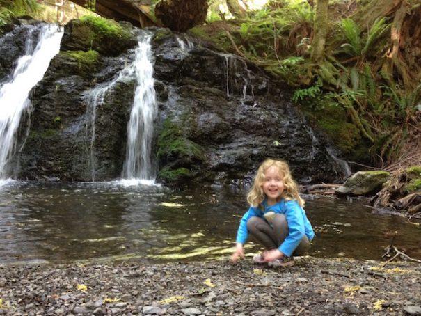 waterfall hike moran state park