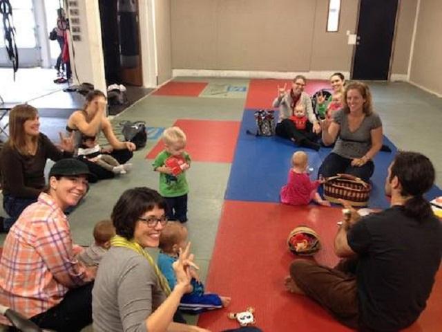 Baby sign language class