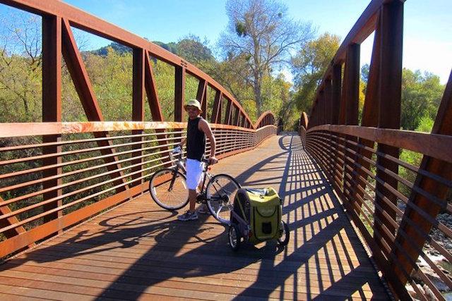 Ojai-Man-Biking-Bridge-Trailer