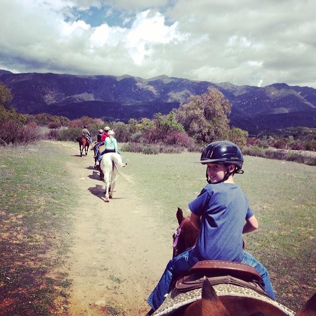 Boy-Riding-Horse-Oso-Ranch-Valley-Trail-Horseback-Ojai