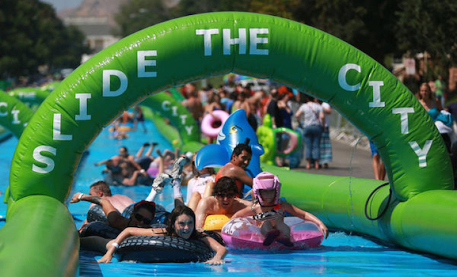 Slide the City general shot
