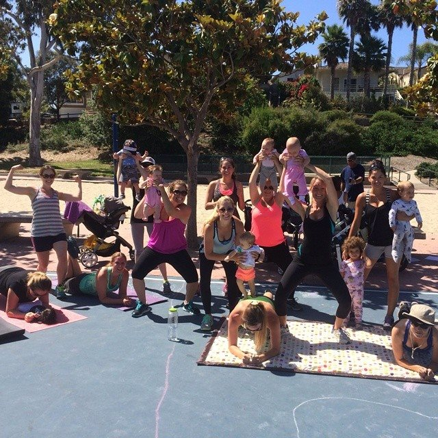 mommy and me workout class