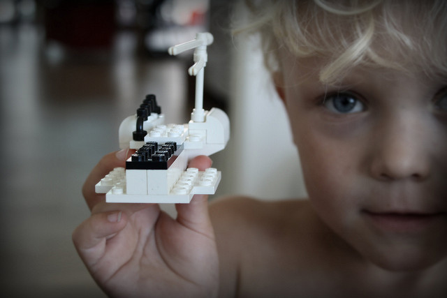 lego kid creation