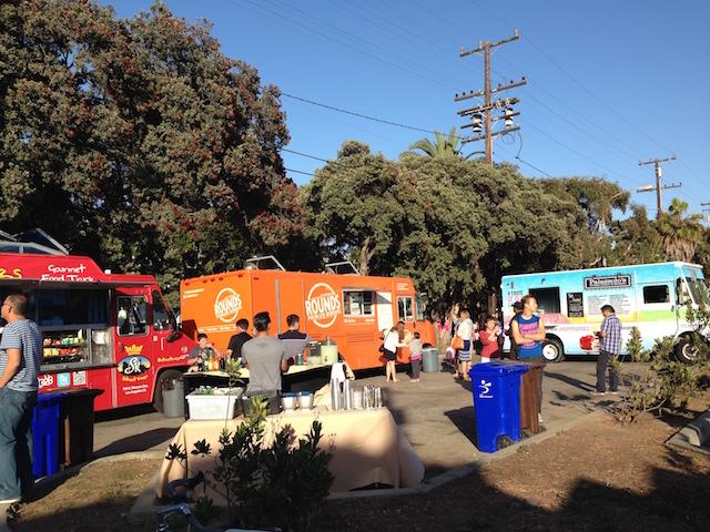 Food Truck Lots Main Street