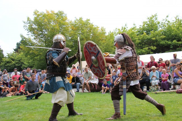 Our Viking Days Festival is a weekend of fun for the entire family (pups included)! We kick off our festival with a 5k and Swedish pancake breakfast, and then have two days of vendors, food, crafts, and events that celebrate Nordic heritage and folktales. Saturday ends with a delicious salmon BBQ, too!
