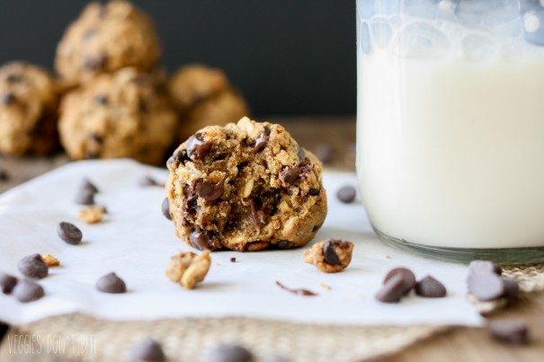 Oatmeal Chocolate Chip Cookie Dough Balls‬‬‬‬‬‬‬‬‬‬‬