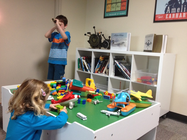 Play table at AEdCenter
