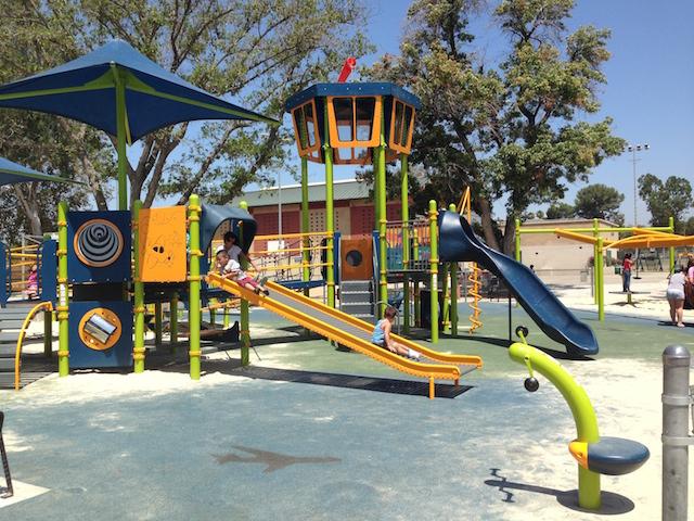 Sepulveda Inclusive Park Large Structure