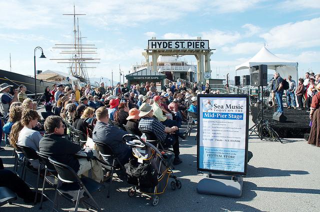 hyde st pier maritime park sea festival san francisco