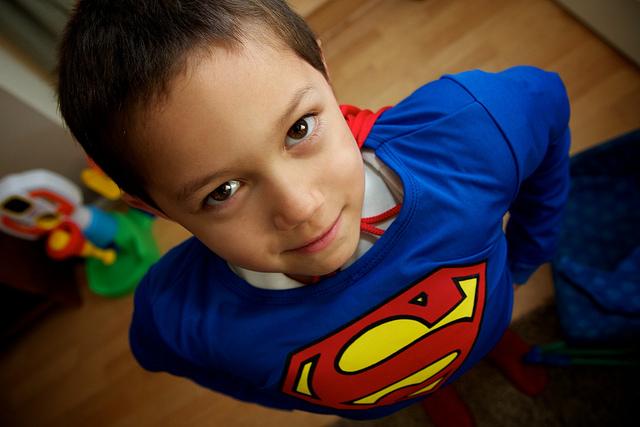 superhero kid cape