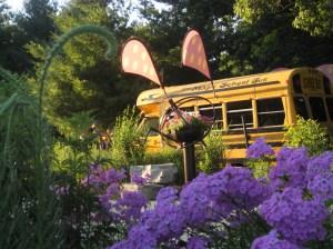 Bookworm Gardens Magic School Bus