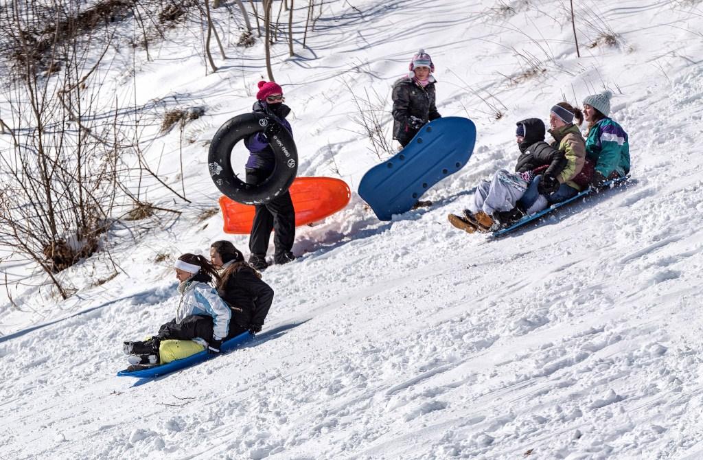 CRDT-kidsseason-1, winter, sledding