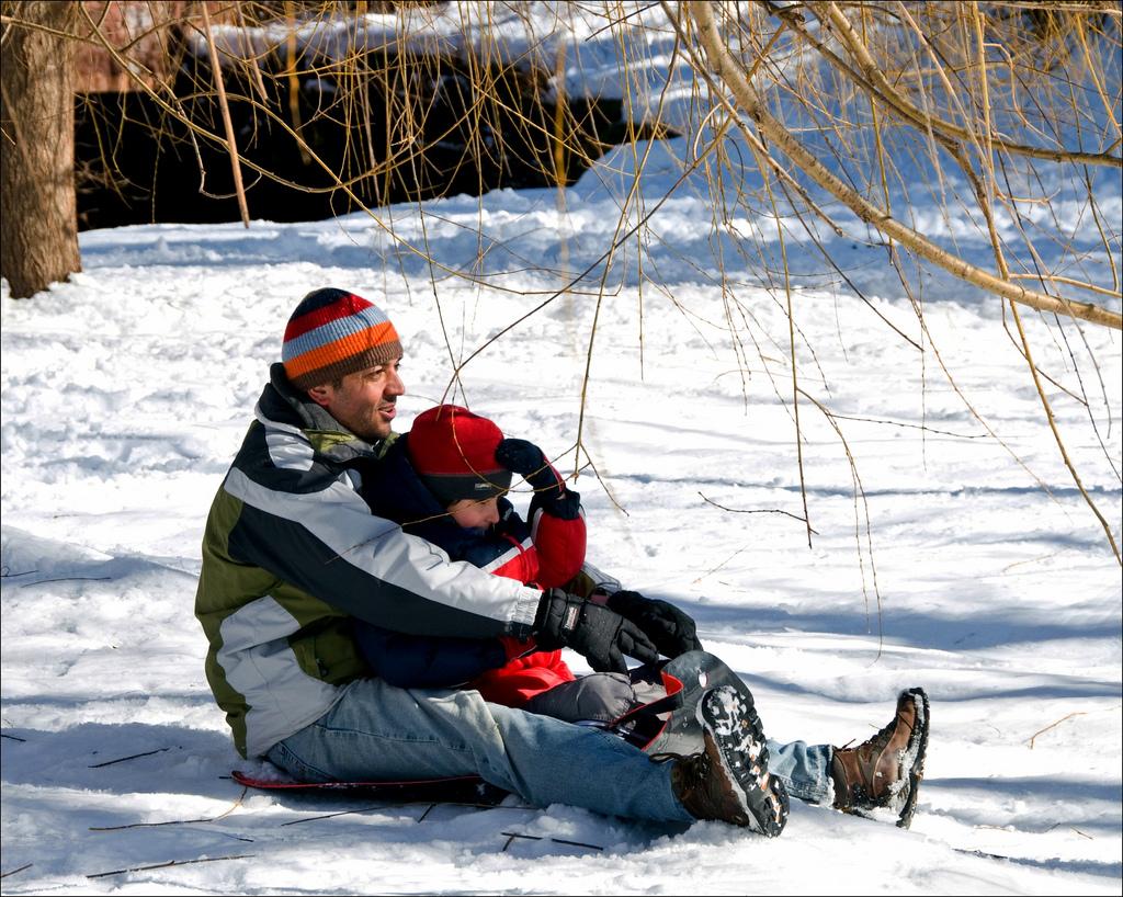 CRDT-kidsseason-4, winter, sledding
