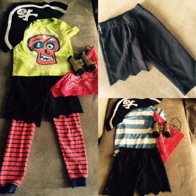 dress like a pirate costume