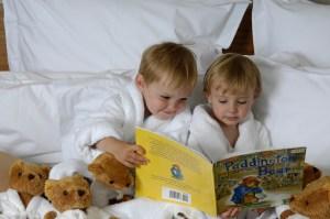 Kohler Inn on Woodlake Kids in Bed