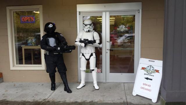 Outside Portland Game Store