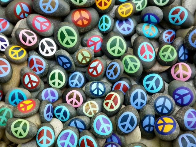rocas de la paz