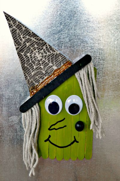 popsicle-stick-witch