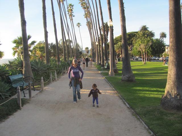 Toddler Activities Sunset Walk