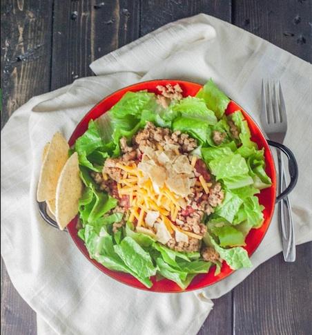 Turkey-taco-salad