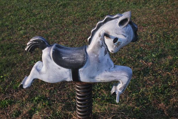 wobbly horse