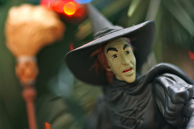 halloween witch toy