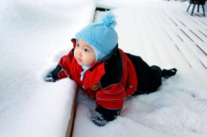snow baby cc harald groven via flickr