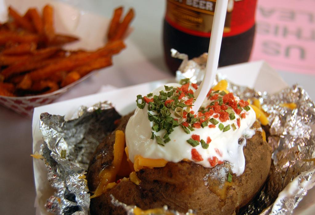 baked potato - cc matt deturck via flickr