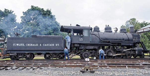 chehalis railroad-cc-Michael Jefferies via Flickr